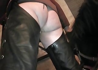 Monstrous black cock of a pony
