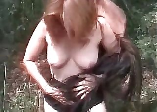 Xxx mare fucking outdoors
